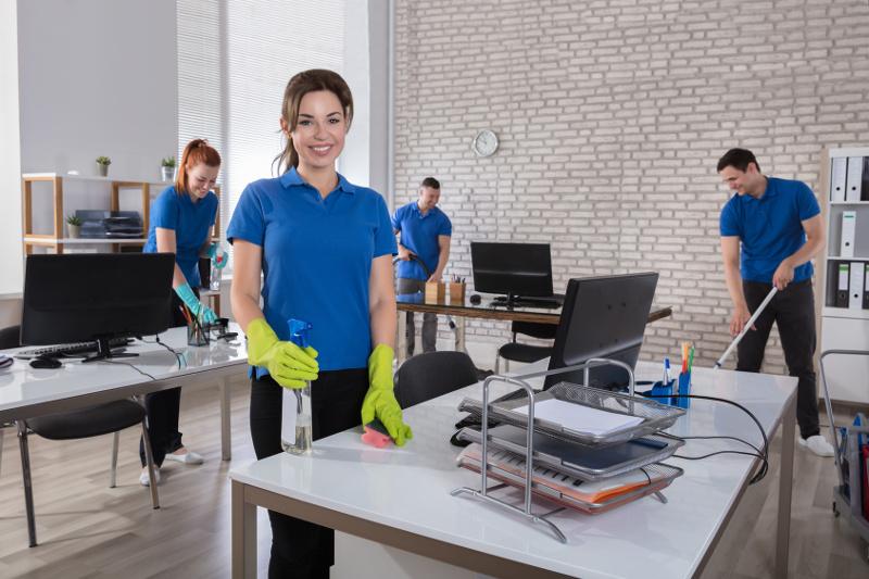 Sprzątanie po przeprowadzce firmy